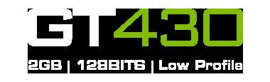 GT430 2GB DDR3 | Low Profile