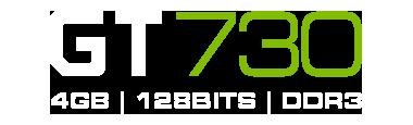 GT730 4GB DDR3 | Low Profile