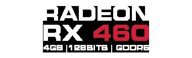 RADEON RX 460 4GB GDDR5 | Dual Fan